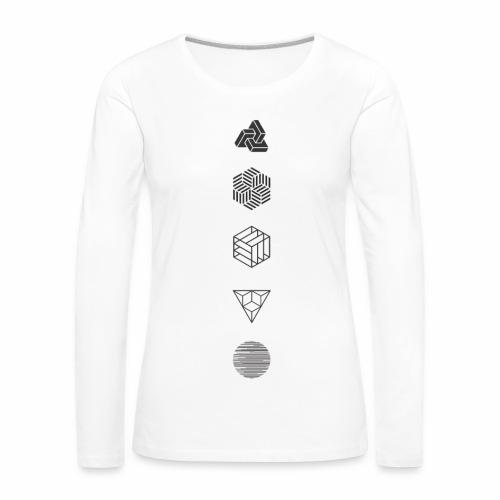 Mr. Project 0.2 - Vrouwen Premium shirt met lange mouwen