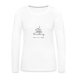 If You Smell Something Left Twins Rompertje - Vrouwen Premium shirt met lange mouwen