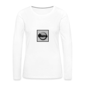YouTube Channel Logo - Women's Premium Longsleeve Shirt