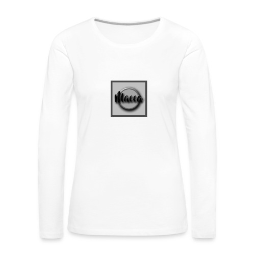 YouTube Channel Logo - Women's Premium Longsleeve Shirt