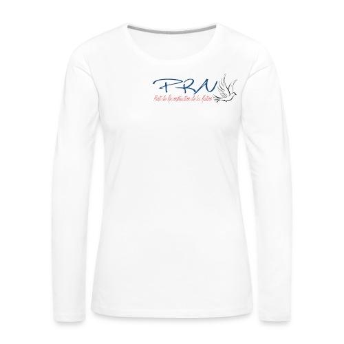 prn2 - T-shirt manches longues Premium Femme