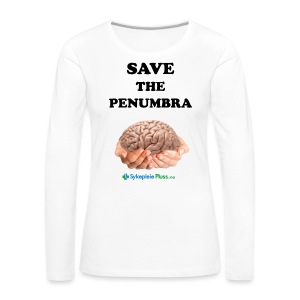 Save the Penumbra - Premium langermet T-skjorte for kvinner