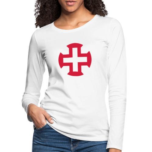 Croix du Portugal - T-shirt manches longues Premium Femme