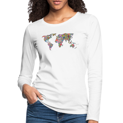 Hipsters' world - Women's Premium Longsleeve Shirt
