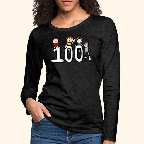 100th Video - Women's Premium Longsleeve Shirt