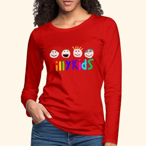 Sillykids Logo - Women's Premium Longsleeve Shirt