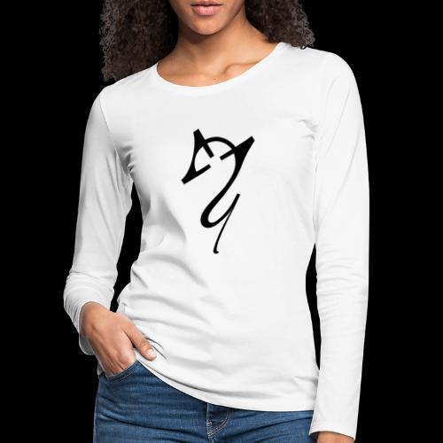 Overscoped Logo - Women's Premium Longsleeve Shirt