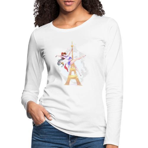 Pole Dance Marianne - T-shirt manches longues Premium Femme