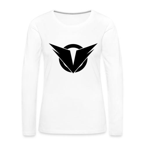 Vintry Logo on back - Frauen Premium Langarmshirt