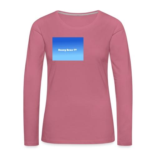 Honey Bears TV Merch - Women's Premium Longsleeve Shirt