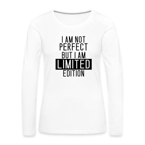 LIMITED EDITON png - Frauen Premium Langarmshirt