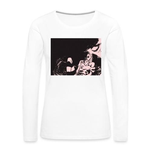 Grimes - Maglietta Premium a manica lunga da donna