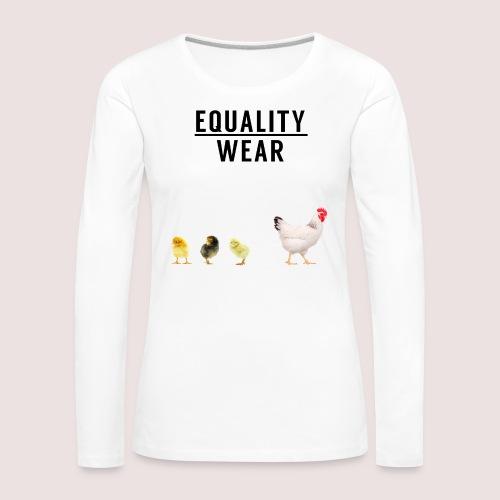 Small Chicken Edition - Women's Premium Longsleeve Shirt