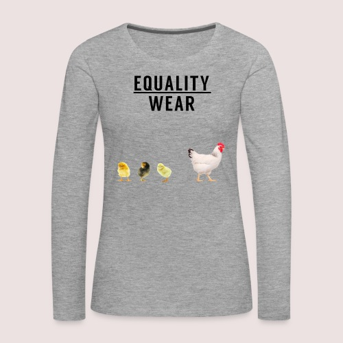 Small Chicken Edition - Women's Premium Longsleeve Shirt