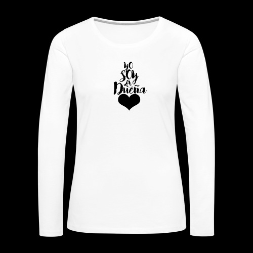 TENGO DUEN A - Camiseta de manga larga premium mujer