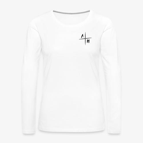 AltijdMitchell Cross Logo - Vrouwen Premium shirt met lange mouwen
