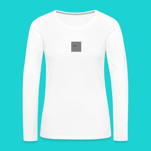 logo-png - Women's Premium Longsleeve Shirt