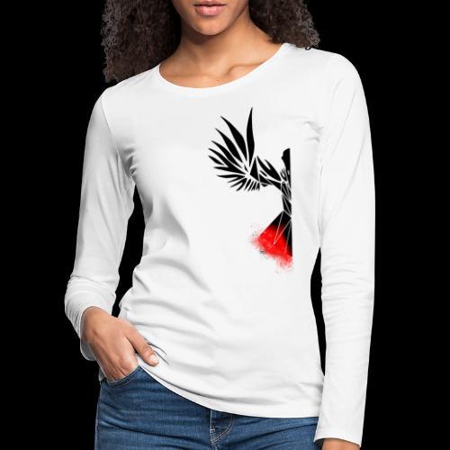 Half Raven - Women's Premium Longsleeve Shirt