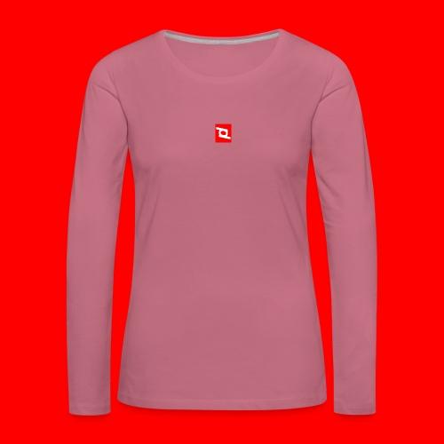 pd 90 - Dame premium T-shirt med lange ærmer