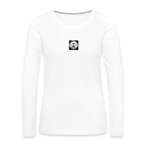 swe_man_loggo-png - Långärmad premium-T-shirt dam
