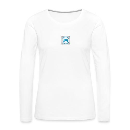 mijn logo - Vrouwen Premium shirt met lange mouwen