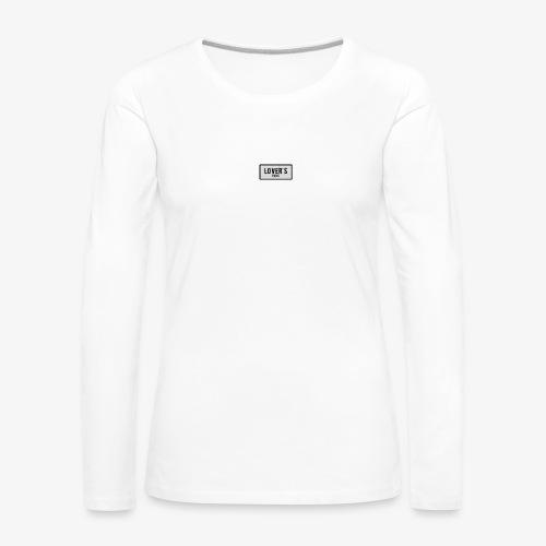 LOVER'S - T-shirt manches longues Premium Femme