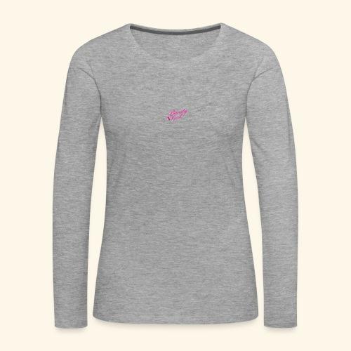 Beauty Girl Ltd logo web medium - Dame premium T-shirt med lange ærmer