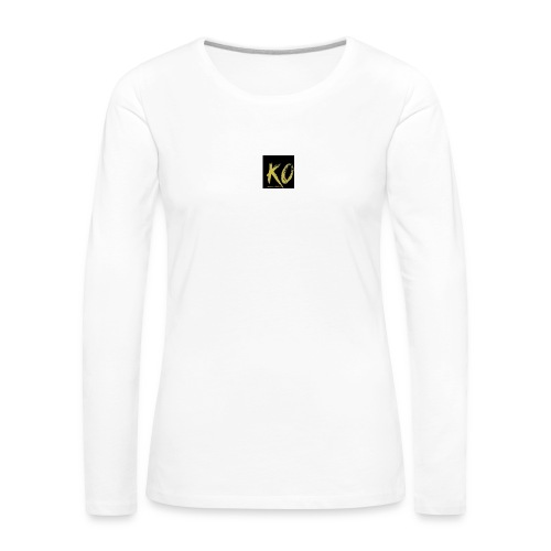k.o-ousmanekebe - T-shirt manches longues Premium Femme