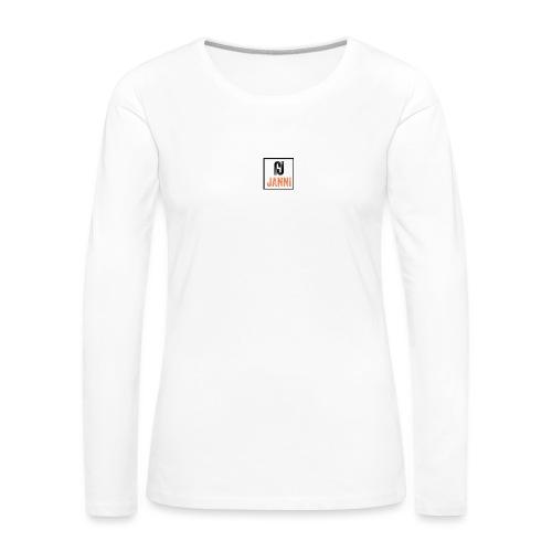Janni - Dame premium T-shirt med lange ærmer