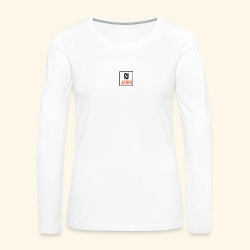Janni Original Design - Dame premium T-shirt med lange ærmer