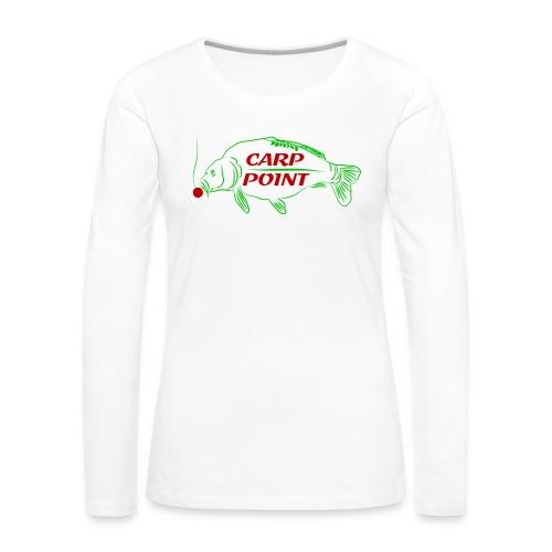 Carp Point new1 mid - Frauen Premium Langarmshirt
