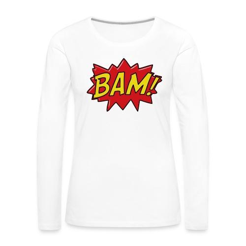 bamtamelijk - Vrouwen Premium shirt met lange mouwen