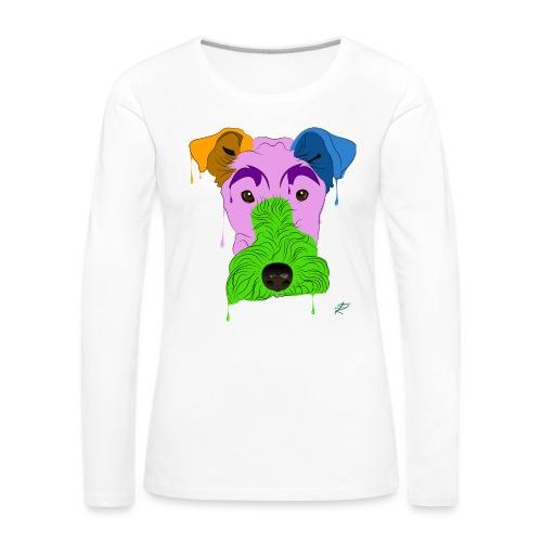 Fox Terrier - Maglietta Premium a manica lunga da donna