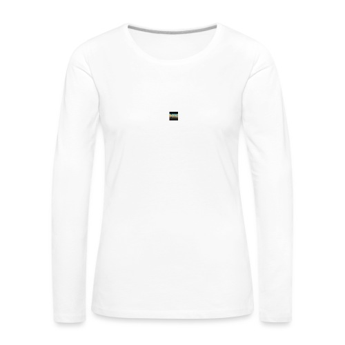 emilking44gaming youtube logo - Långärmad premium-T-shirt dam