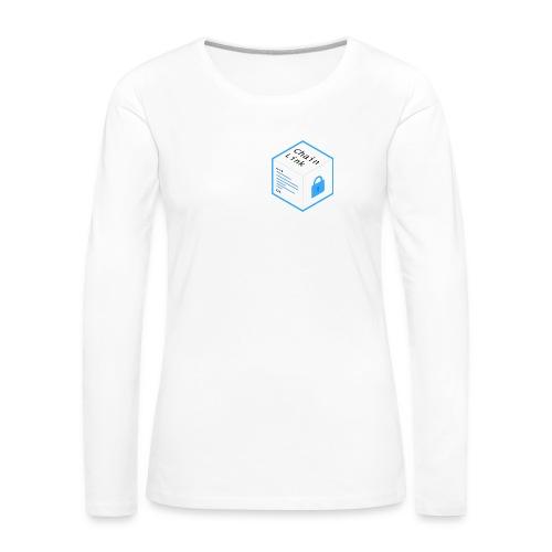 Cryptocurrency - ChainLink - Frauen Premium Langarmshirt