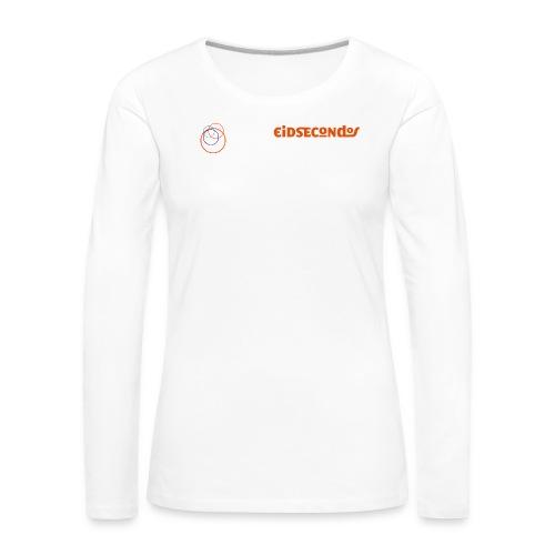 Eidsecondos better diversity - Frauen Premium Langarmshirt
