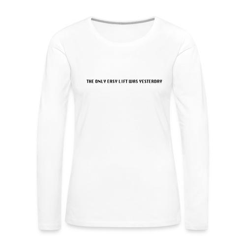 170106 LMY t shirt hinten png - Frauen Premium Langarmshirt