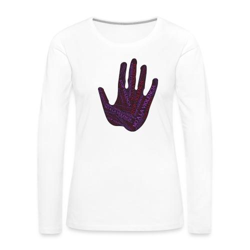RESPETO A LA MUJER - Camiseta de manga larga premium mujer