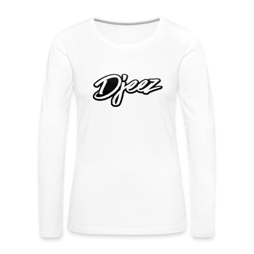 djeez_official_kleding - Vrouwen Premium shirt met lange mouwen