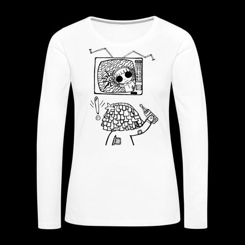 dehidre 1 - Camiseta de manga larga premium mujer