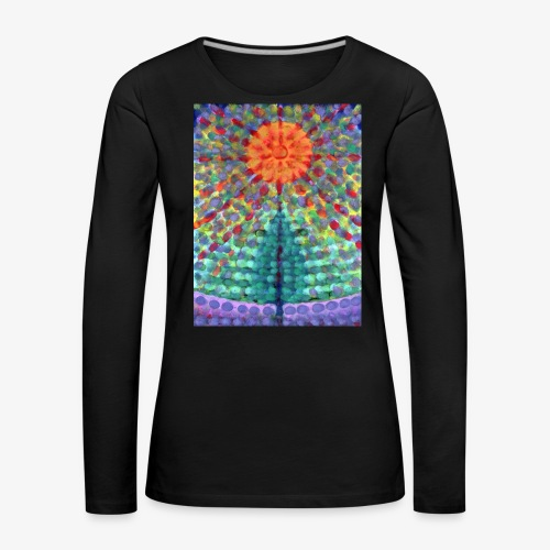 Miraż - Koszulka damska Premium z długim rękawem