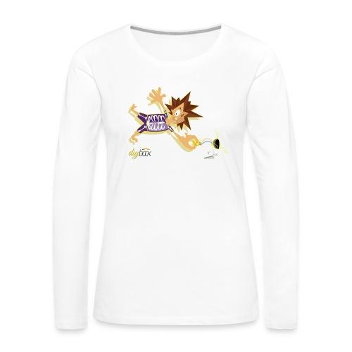 Electric Shock - Frauen Premium Langarmshirt