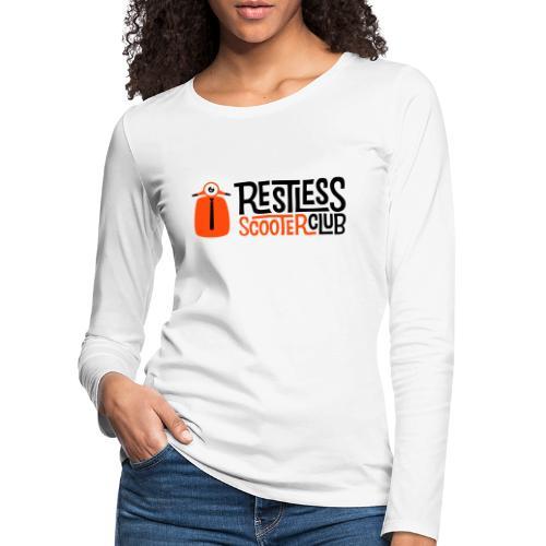 Classic - Premium langermet T-skjorte for kvinner
