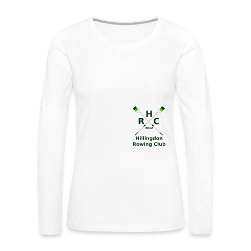 HRC Logo Brand Refresh Bitmap - Women's Premium Longsleeve Shirt