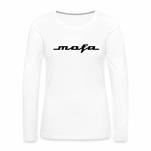 Moped Logo Parody (v2) - Women's Premium Longsleeve Shirt