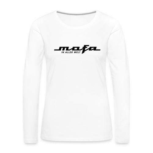 Mofa in aller Welt Logo Parodie (v2) - Women's Premium Longsleeve Shirt