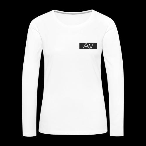AV White - Women's Premium Longsleeve Shirt