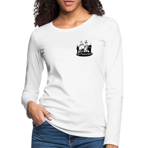 Ale Ponnyranch - Långärmad premium-T-shirt dam