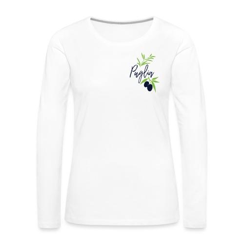 Puglia - Maglietta Premium a manica lunga da donna