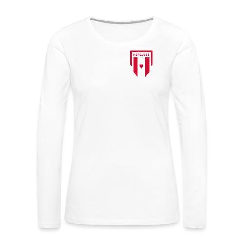 JS Hercules, new logo - Naisten premium pitkähihainen t-paita
